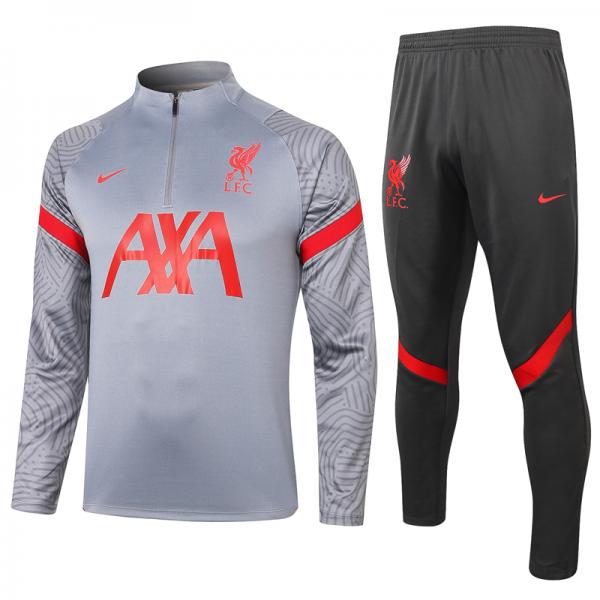 Спортивный костюм Ливерпуль серый сезон 2020/21